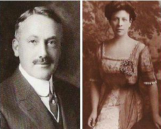 Dr. Walter Jarvis Barlow and Marian Brooks Patterson, ca 1898