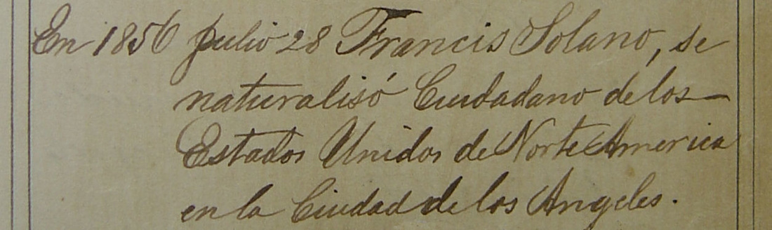 Francisco naturalization
